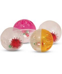 Набор мячей для кошек, 4,5см, 4 шт., пластик