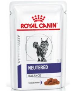 Паучи для кастрированных котов и кошек 1-7лет, котроль веса (Neutered Balance)