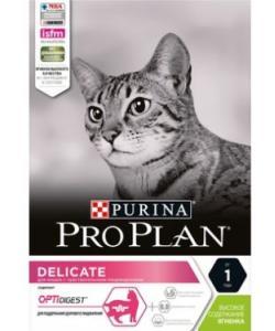 Для кошек с чувствительным пищеварением, ягненок (Delicate)