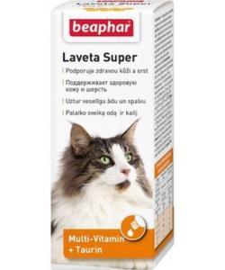Витамины для кожи и шерсти кошек (Laveta Super for Cats)