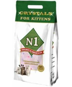 Силикагелевый наполнитель для котят, 5л (Crystals for Kittens)