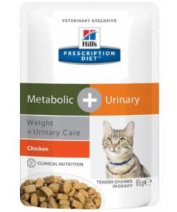 Паучи для взрослых кошек для коррекции веса и лечения мочекаменной болезни