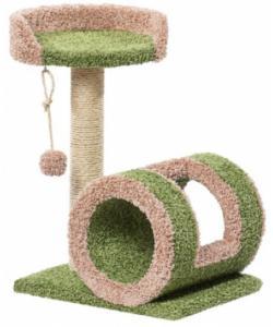 Когтеточка для кошек ковролиновая «Грамулечка» 57*47*65 см, сизаль