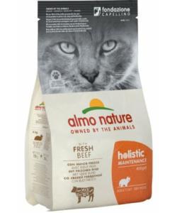 Для взрослых кошек с говядиной и коричневым рисом (Holistic Adult Cat Adult Beef and Rice)
