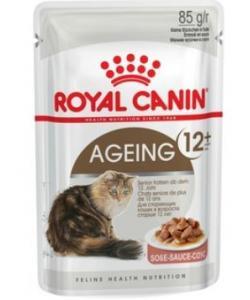 Кусочки в соусе для кошек старше 12лет (Ageing+12)