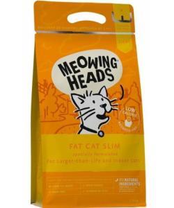 """Для кошек с избыточным весом с курицей и лососем """"Худеющий толстячок"""", Fat Cat Slim"""