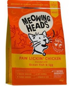 """Для взрослых кошек, с курицей и рисом """"Куриное наслаждение"""", Paw Lickin' Chicken"""
