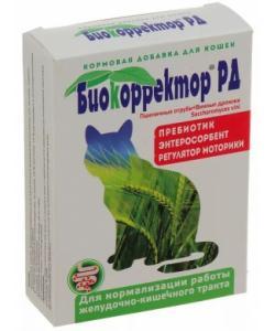 Биокорректор для кошек натуральная биологически активная добавка 60таб