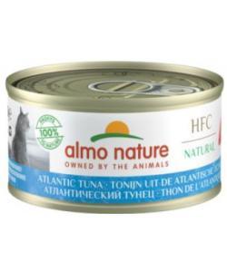 Консервы для кошек с атлантическим тунцом, 75% мяса , HFC Adult Cat Atlantic Tuna
