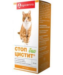 Стоп-Цистит Био Для кошек - лечение и профилактика МКБ (суспензия)
