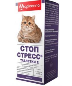 Стоп-Стресс Для Кошек, 15таб.