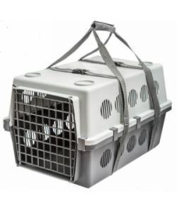 """Переноска для животных до 15кг с пластиковой дверцей """"Пегас"""" №3 61*40*36см"""