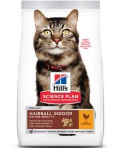 Для пожилых кошек вывод шерсти индейка и курица (Mature Hairball)