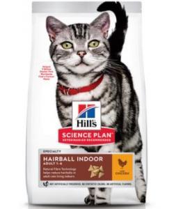 Для домашних кошек - контроль веса и вывод шерсти Hairball+Indoor