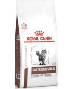 Для кошек - Диета при нарушении пищеварения с умеренным содержанием энергии (Gastro Intestinal Moderate Calorie)