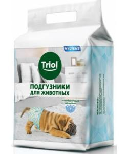 Подгузники для животных весом  7-16 кг (размер М) 12 шт.