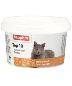 Витамины для кошек (Top 10 for cat),180шт.
