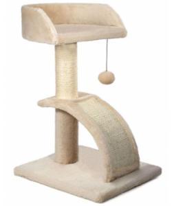 Игровой комплекс для кошек, сизаль, 35*31*52 см (СТ55)