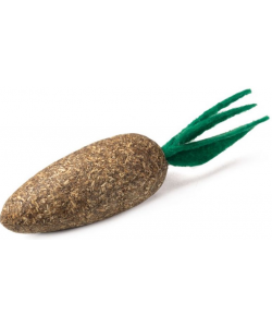 """Игрушка """"Морковка"""" из кошачьей мяты, для кошек, 5 см"""