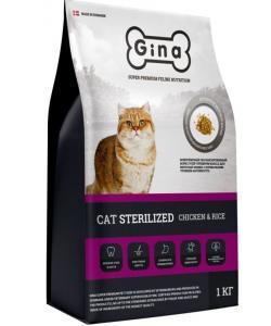 Сухой корм для для взрослых стерилизованных кошек с нормальным уровнем активности, Sterilized Chicken & Rice