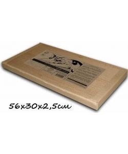 Картонная когтеточка для кошек Когтедралка-КРАФТ 56*30*2.5см