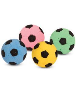 """Игрушка для кошек """"Мяч футбольный"""", d4см, 4шт."""