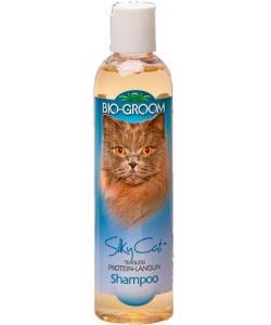 Шампунь для КОШЕК Протеин/Ланолин (Silky Cat Shampoo), 1:4