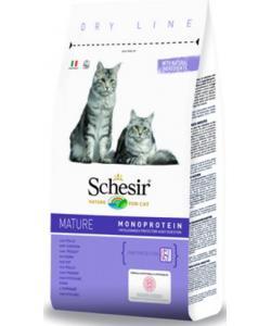 Для пожилых кошек с 8 лет Schesir Mature