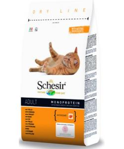 Для взрослых кошек 1-7 лет с курицей Schesir Adult Chicken