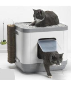 Cat Concept 4 в 1 (туалет, лежанка, дразнилка, когтеточка) 40*48*43 см