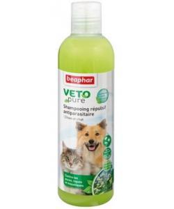 Шампунь БИО от блох и клещей для кошек и собак, VETO Pure