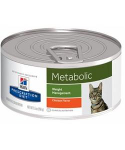 Консервы для улучшения метаболизма (коррекции веса) у кошек  (Feline Metabolic)