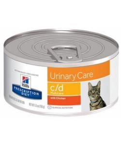 Консервы C/D для кошек - Профилактика мочекаменной болезни