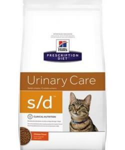 S/d для кошек - Лечение мочекаменной болезни (МКБ)