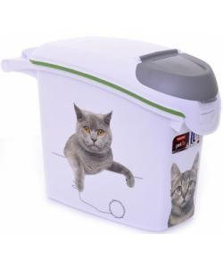 """Контейнер для корма """"Сладкие котята""""на 6кг/15л, 23*50*36см"""
