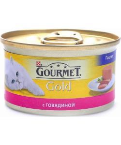 Мусс из говядины для кошек (GOURMET GOLD)