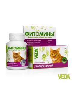 Фитомины Профилактика МКБ кошек (урология), 100таб.