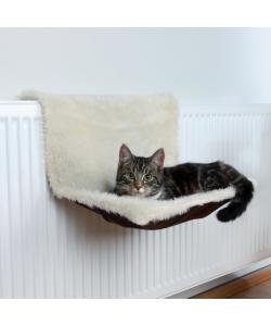 Гамак на радиатор для кошки 45*26*31 см, бежевый (43141)