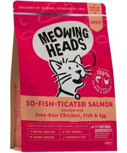 "Для взрослых кошек, с лососем, курицей и рисом ""Фиш-гурман"", So-fish-ticated Salmon"