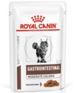 Кусочки в желе для кошек при лечении ЖКТ (Gastro-Intestinal feline Moderate Calorie)