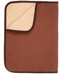 Пеленка МНОГОРАЗОВАЯ впитывающая для животных, коричневая, 30*40 см