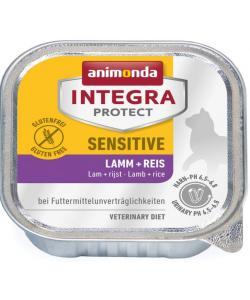 Консервы Integra для взрослых кошек при пищевой аллергии с ягненком и рисом (Sensitive)