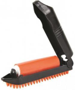 Щётка для уборки шерсти с липким роликом, 23 см (23234)