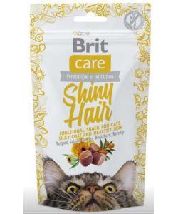 Лакомство для кошек Shiny Hair Блестящая шерсть
