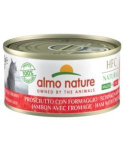 """Консервы для кошек Итальянские рецепты:""""Ветчина и пармезан"""" (HFC Natural Made in Italy Ham with Parmigiano)"""