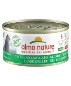 """Консервы для кошек Итальянские рецепты:""""Индейка гриль""""  (HFC Natural Made in Italy grilled Turkey)"""
