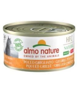 "Консервы для кошек Итальянские рецепты:""Курица гриль"" (HFC Natural Made in Italy grilled Chicken)"