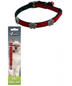 Светоотражающий ошейник для кошек 10мм*28см, красный