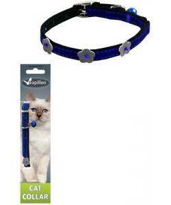 Светоотражающий ошейник для кошек 10мм*28см, синий