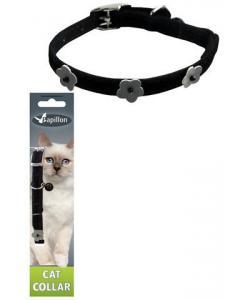 Светоотражающий ошейник для кошек 10мм*28см, черный
